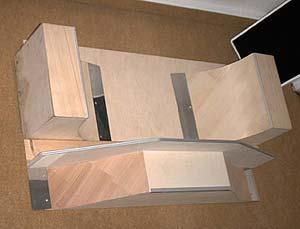 skateboard rampe selber bauen gel nder f r au en. Black Bedroom Furniture Sets. Home Design Ideas
